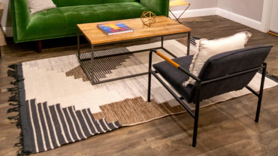 Stylizowane wygodne krzesło